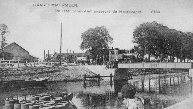 Schakelstentoonstelling Haarlemmermeerspoorlijn