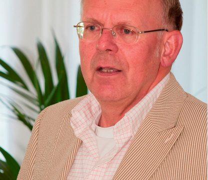 Dick Kooiman, oud-voorzitter van de Bezinningscommissie van de kerken in Heemstede en Bennebroek