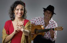 Optreden van Mónica Coronado en Manito
