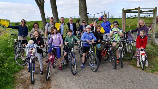 hemelvaartsdag fietstocht Spaarnwoude