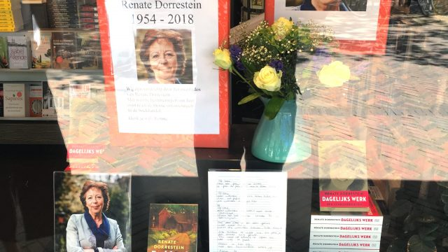 Renate Dorrestein overleden
