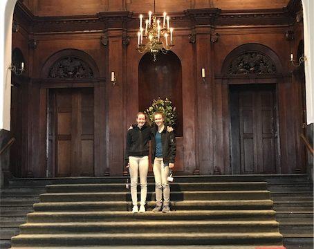 Jasmijn en Lisa lezing Museum Haarlem