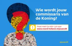 Wie moet de nieuwe commissaris van de Koning worden?