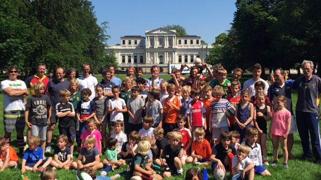Nieuwe Rugby Club voor jeugd laat van zich zien