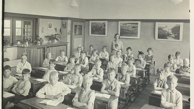 Dreefschool 3e klas juffrouw Wildschut