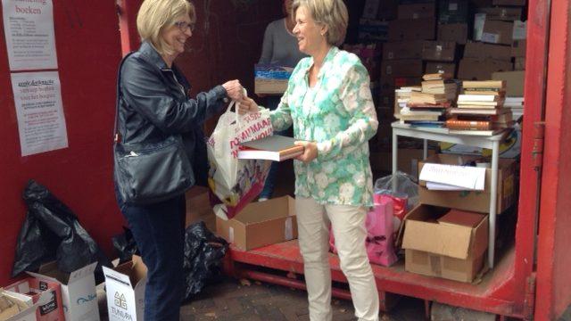 Inzamelen en verkoop gebruikte boeken voor hospice