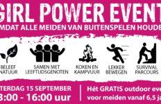 Meiden uitgedaagd voor Girl Power Event bij WABO Scouting