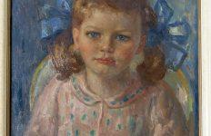 Kinderportretten geschilderd door Simon de Heer gezocht