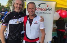 Team Gijs, strijdend tegen Parkinson, bedankt supporters
