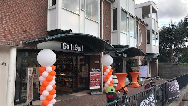 Metamorfose Gall & Gall met inzet van plaatselijke ondernemers