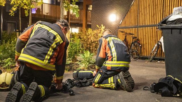 Brand in zorginstelling aan de Rijksstraatweg in Bennebroek