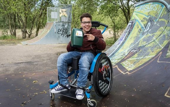 collecteren voor kinderen met handicap