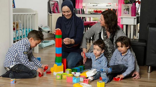 home-start humanitas deel ervaring met gezinnen